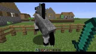 getlinkyoutube.com-How to tame a horse in MineCraft ? 1.8.8 (Hindi Commentary)