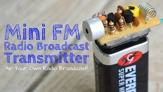 Build A Long Range FM Transmitter (Spybug)