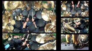 getlinkyoutube.com-Kevan Roy- Drum solo groove