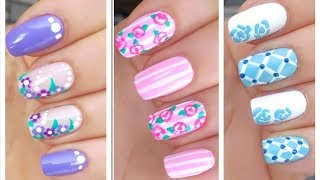 getlinkyoutube.com-3 Cute Nail Art Designs for Spring/Summer - #1