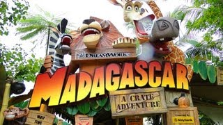 getlinkyoutube.com-Universal Studios Singapore Madagascar Full Ride HD