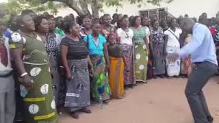 New Apostolic Church - choir in rural Zambia