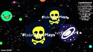 getlinkyoutube.com-INSANE 25k Gameplay agario - Plays
