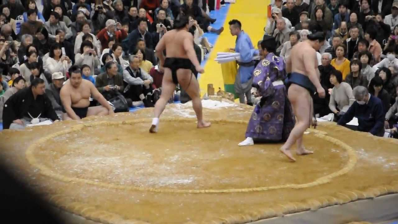 20130413 大相撲アオーレ長岡場所 日馬富士 白鳳