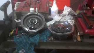 getlinkyoutube.com-Diesel Kubota Tractor gear case repair #5