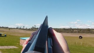 getlinkyoutube.com-How to lead a target when shotgun shooting