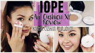 getlinkyoutube.com-First Impressions ♥ IOPE Air Cushion Foundation XP N23 Review