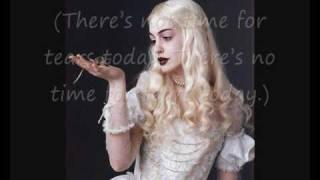 getlinkyoutube.com-Danny Elfman -- Alice's Theme (LYRICS)