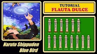"""getlinkyoutube.com-Naruto - Blue Bird en Flauta """"Con Notas Explicadas"""""""
