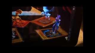 getlinkyoutube.com-Androdisc, para proyectar hologramas de Yugioh!