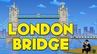 London bridge is falling down, nursery rhymes with lyrics