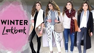 getlinkyoutube.com-Winter Lookbook | 2016 Winter Fashion Outfit Ideas | Miss Louie
