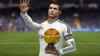 "getlinkyoutube.com-FIFA 16 CRISTIANO RONALDO ""Ballon d'Or 2014"" TRIBUTE"