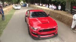 Ford Mustang GT350R at Goodwood Festival of Speed 2015 width=