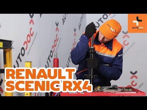 Как да сменим предни амортисьори на RENAULT SCENIC RX4 ИНСТРУКЦИЯ   AUTODOC