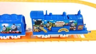getlinkyoutube.com-Thomas and Friends Motorized Thomas Train play set with Track by PleaseCheckout