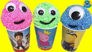 Learn Colors for Children Foam Surprise Eggs Учим Цвета Открываем Киндер Сюрпризы Маша и Медведь