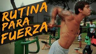getlinkyoutube.com-RUTINA PARA GANAR FUERZA EN LAS BARRAS (Calistenia)