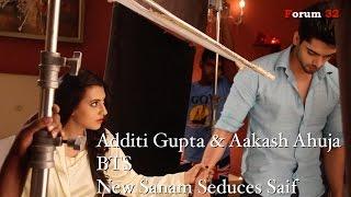 getlinkyoutube.com-Qubool Hai | BTS | New Sanam Seduces Saif