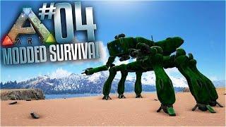 getlinkyoutube.com-Ark Modded Survival - Ep 4 - Ark Futurism Mod Mech Testing! (Multiplayer ark valhalla Gameplay)