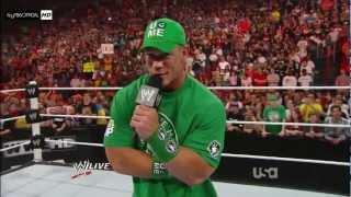 Brock Lesnar Returns 2012!! *1080p HD*