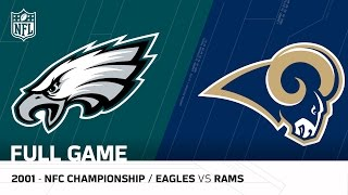 getlinkyoutube.com-2001 NFC Championship Comeback | Eagles vs. Rams | NFL Full Game