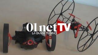 getlinkyoutube.com-Rolling Spider et Jumping Sumo : les minidrones très rigolos de Parrot