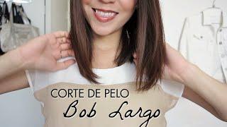 getlinkyoutube.com-Corte de Pelo Bob Largo Tutorial! Cómo cortarse el cabello uno mismo