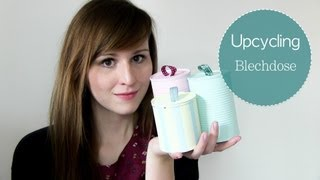 getlinkyoutube.com-DIY  Blechdosen Upcycling