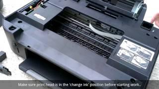 getlinkyoutube.com-Fix a Kodak ESP Printer Paper Jam