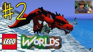 getlinkyoutube.com-Ethan plays LEGO Worlds (#2) - MY PET DRAGON!