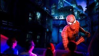 getlinkyoutube.com-The Spiderman Ride 3D ride universal studios
