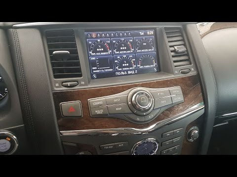 Nissan / Infiniti  (2010-2017) - меню телеметрии от Nissan GTR