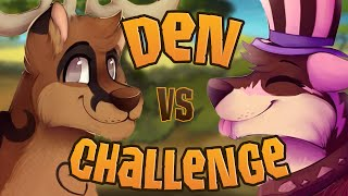 getlinkyoutube.com-FIVE MINUTE ANIMAL JAM DEN CHALLENGE [FT. WISTERIAMOON] – Store Bought Items ONLY