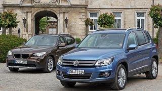 getlinkyoutube.com-VW Tiguan vs. BMW X1 - Tiguan fordert X1