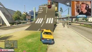 getlinkyoutube.com-TERRORIST TAXI HIJACK! - Grand Theft Auto 5
