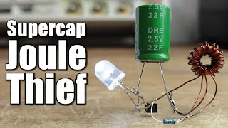 getlinkyoutube.com-Supercapacitor Joule Thief