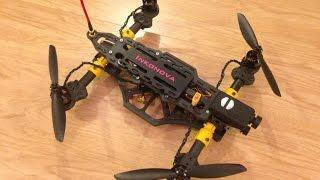getlinkyoutube.com-The TILT, a dynamic tilting arms 3D printed quadcopter racer - Maiden flight