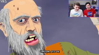 getlinkyoutube.com-Dan and Phil play HAPPY WHEELS!! rus sub