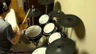 getlinkyoutube.com-嵐の ワイルドアットハート を叩いてみた。 (drum cover)
