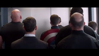 getlinkyoutube.com-Captain America 2 - Elevator scene ( HD )