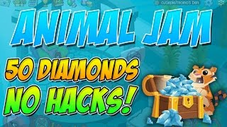 How to get 50 free diamonds! - Animal Jam (2016)