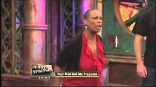 getlinkyoutube.com-Your Man Got Me Pregnant (The Jerry Springer Show)