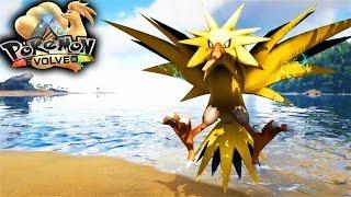 getlinkyoutube.com-Ark Pokemon Evolved Mod - Taming Zapdos (Live Stream Footage)  (Ark Pokemon Mod Gameplay)