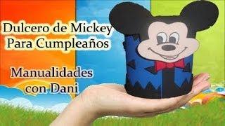 getlinkyoutube.com-Dulcero de Mickey Mouse para Cumplaeños
