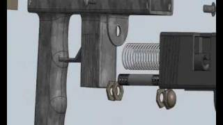 getlinkyoutube.com-Homemade full automatic 9mm