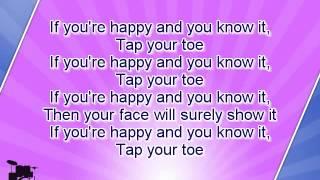getlinkyoutube.com-Karaoke for kids - If You Are Happy And You Know It - slow - key -3