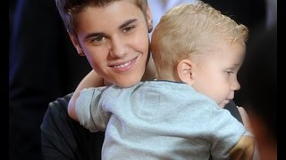 getlinkyoutube.com-Justin Bieber and his little brother Jaxon | Funny, Best & Cute Moments 2011 - 2014