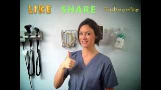 getlinkyoutube.com-How to put on Sterile Gloves