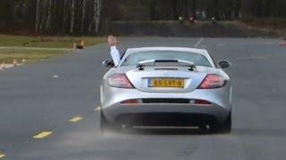 getlinkyoutube.com-Mercedes-Benz SLR McLaren Drag Racing vs Ferrari 599 GTB, Porsche 911 Turbo & More!